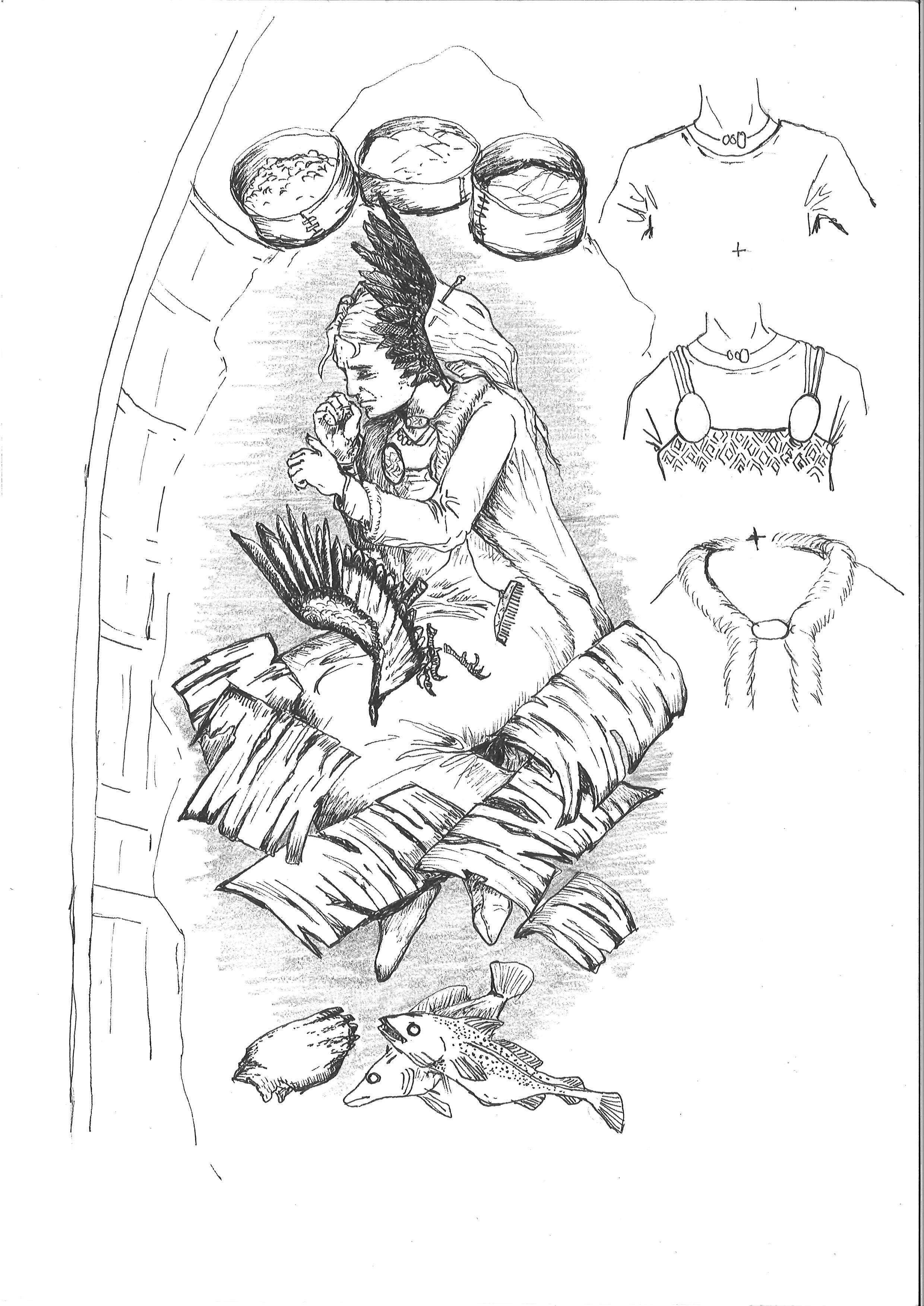 kvindenigraven